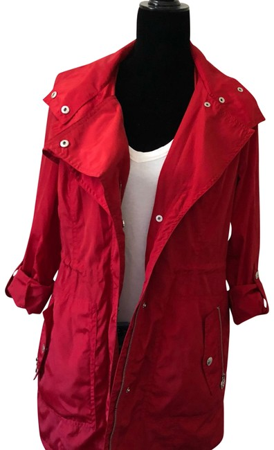 Item - Red Utility Coat Size 4 (S)