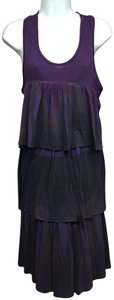 David Benjamin short dress Purple on Tradesy