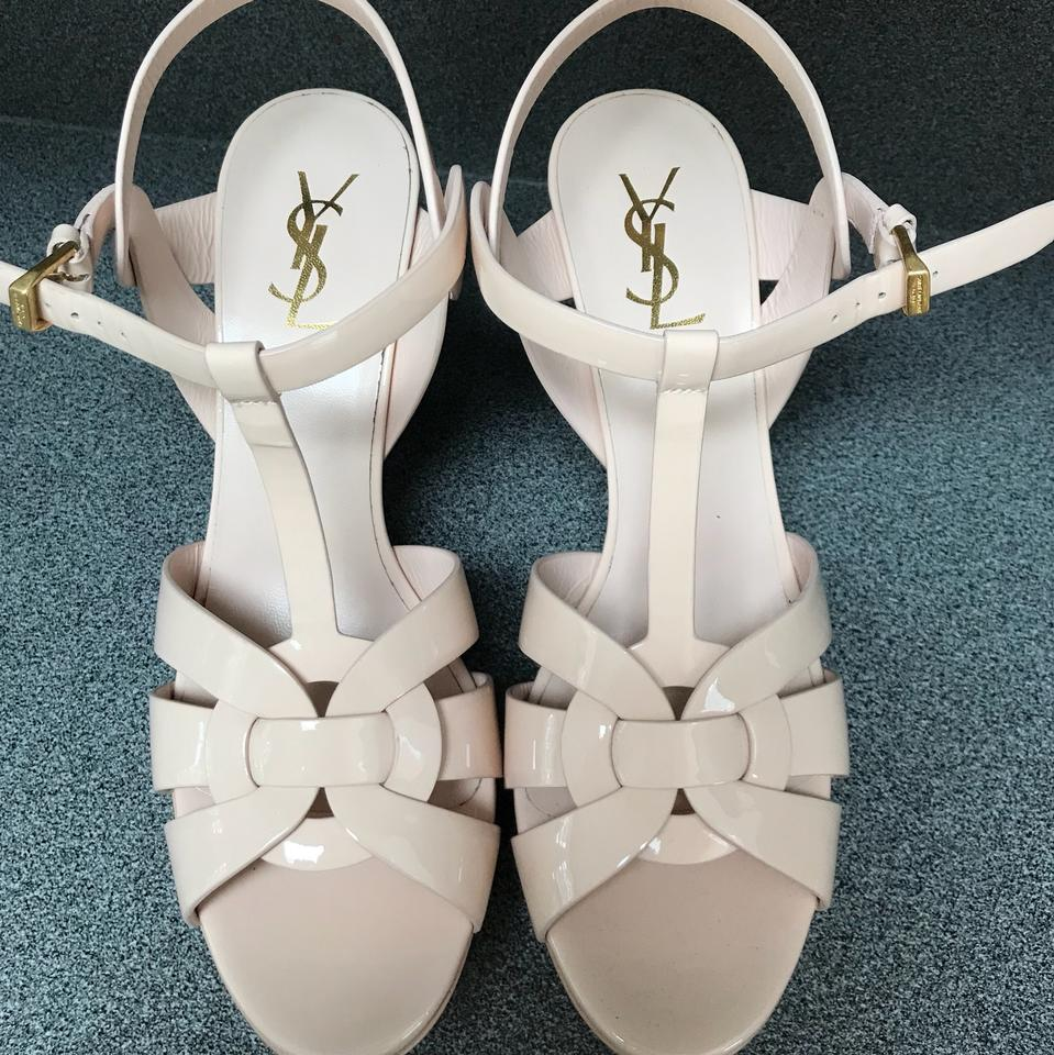 Saint Laurent Nude Saint Tribute Laurent Platforms 1R76xn