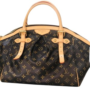 Louis Vuitton Satchel in Brown and Tan