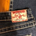 """True Religion Blue Distressed Faded Wash 31-teue """"billy Big Jeans-33"""" Inseam Boot Cut Jeans Size 10 (M, 31) True Religion Blue Distressed Faded Wash 31-teue """"billy Big Jeans-33"""" Inseam Boot Cut Jeans Size 10 (M, 31) Image 7"""
