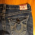 """True Religion Blue Distressed Faded Wash 31-teue """"billy Big Jeans-33"""" Inseam Boot Cut Jeans Size 10 (M, 31) True Religion Blue Distressed Faded Wash 31-teue """"billy Big Jeans-33"""" Inseam Boot Cut Jeans Size 10 (M, 31) Image 10"""