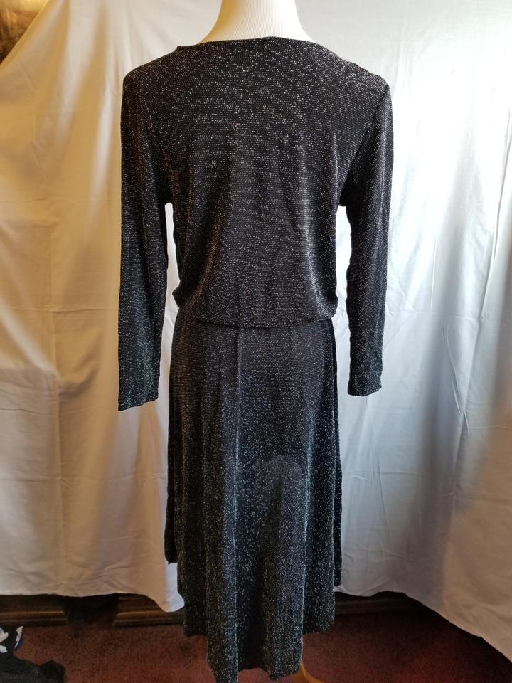 421b02d73f79d dressbarn Black Multi and Black and Gold Sparkle Party Top Short Night Out Dress  Size 16 (XL, Plus 0x) - Tradesy