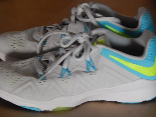 Nike Metcon Cross Trainer Crossfit Weight Lifting GRAY blue GREEN Athletic