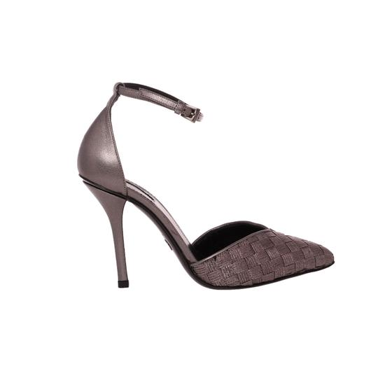 Giorgio Armani Evening Sandals Dress Pointy Silver Pumps