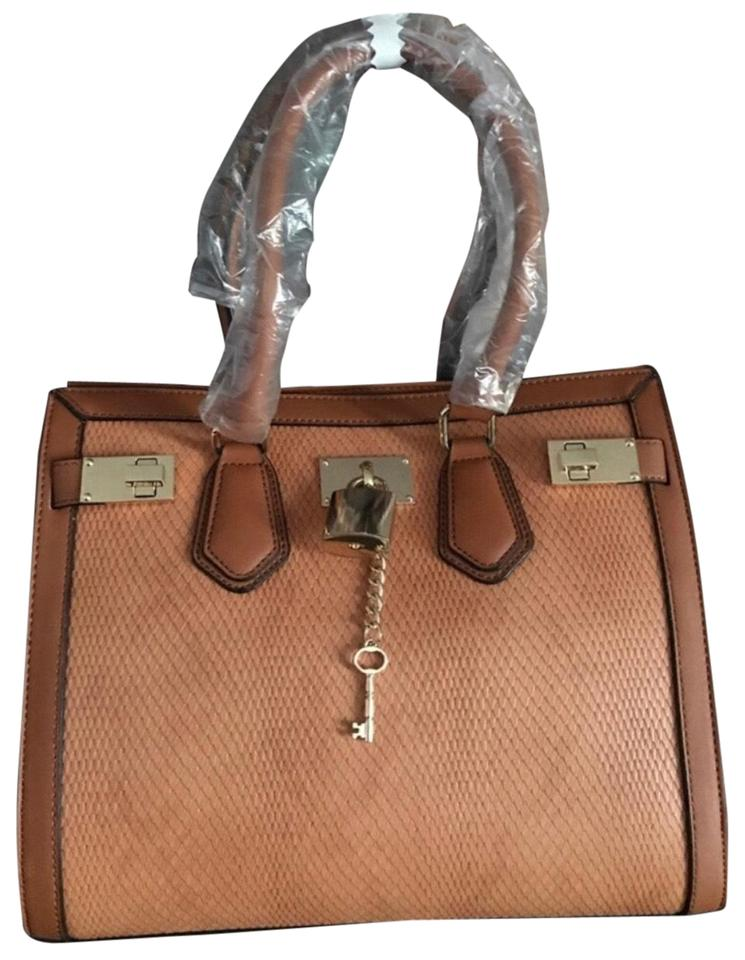 9705fbd408a ALDO Brown Or Bronze Leather Satchel - Tradesy