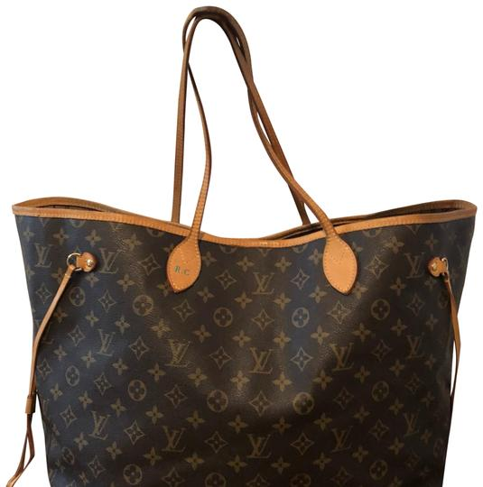 Preload https://item4.tradesy.com/images/louis-vuitton-neverfull-monogram-brown-tote-23476173-0-1.jpg?width=440&height=440