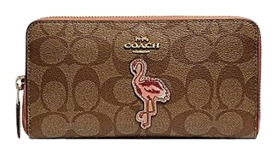 Preload https://item3.tradesy.com/images/coach-accordion-zip-in-signature-canvas-with-flamingo-motif-wallet-23476177-0-1.jpg?width=440&height=440