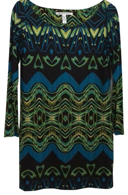Preload https://img-static.tradesy.com/item/23476269/diane-von-furstenberg-green-blue-black-pattern-sheath-mid-length-workoffice-dress-size-8-m-0-1-650-650.jpg