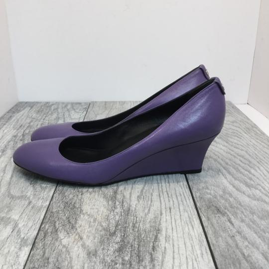 Gucci Purple and Black Wedges