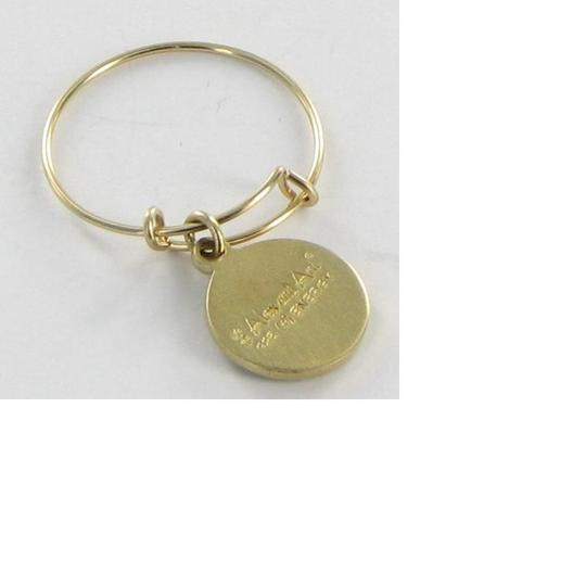 Alex and Ani PC13R106G Cherub Expandable Wire Ring 2-Tone Silver 14k Gold Filled