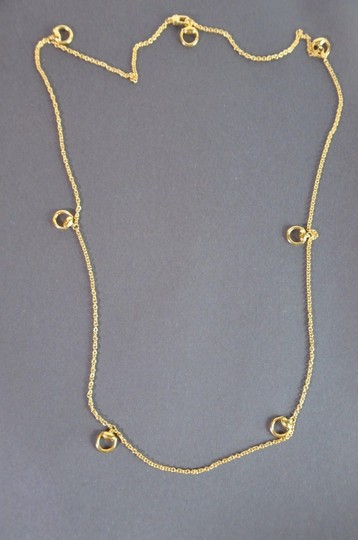 Gucci Gucci 18 K Yellow Gold Horse-bit Necklace 16