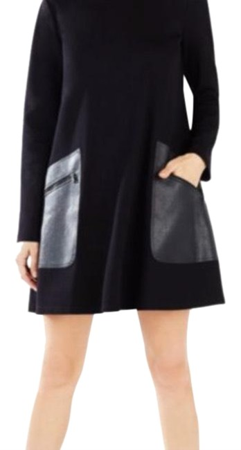 Preload https://img-static.tradesy.com/item/23476349/bcbgmaxazria-heather-grey-bcbg-mid-length-workoffice-dress-size-0-xs-0-1-650-650.jpg