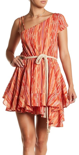 Preload https://item2.tradesy.com/images/free-people-orange-heart-shaped-face-asymmetrical-belted-cotton-mini-short-casual-dress-size-12-l-23476356-0-1.jpg?width=400&height=650