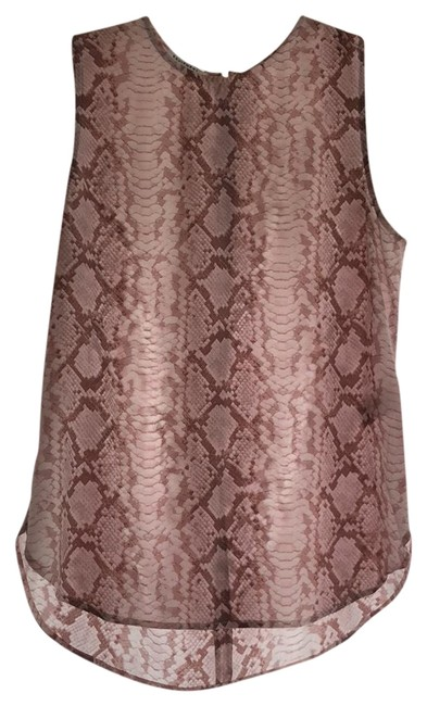 Preload https://item5.tradesy.com/images/equipment-pink-snakeskin-print-blouse-tank-topcami-size-4-s-23476404-0-2.jpg?width=400&height=650