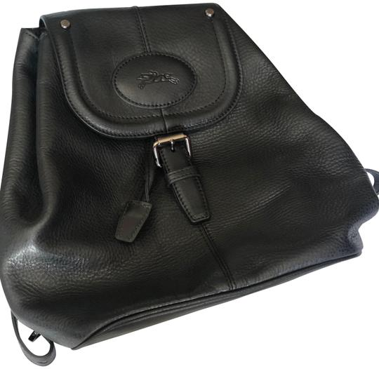 Preload https://item2.tradesy.com/images/longchamp-mystery-black-leather-backpack-23476426-0-1.jpg?width=440&height=440