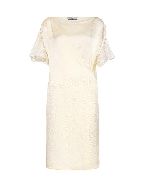 Preload https://img-static.tradesy.com/item/23476449/rachel-comey-ivory-glow-hammered-silk-wrap-front-lace-mid-length-formal-dress-size-0-xs-0-0-650-650.jpg