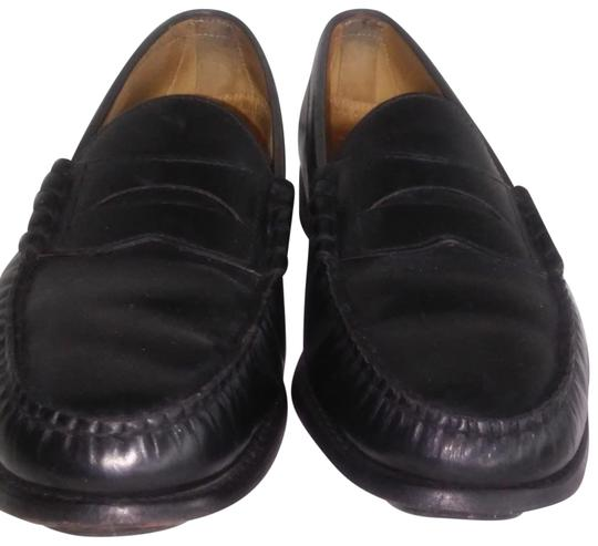 Preload https://item1.tradesy.com/images/black-mens-leather-l-loafers-d-flats-size-us-125-wide-c-d-23476455-0-1.jpg?width=440&height=440