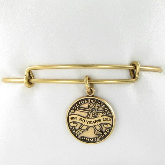 Alex and Ani CBD13JFRG Boston Red Sox Jimmy Fund Expandable Bracelet Russian Gold