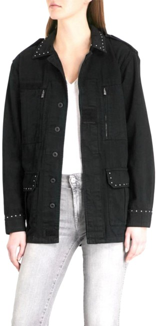 Preload https://item3.tradesy.com/images/the-kooples-black-long-with-studs-spring-jacket-size-2-xs-23476532-0-1.jpg?width=400&height=650