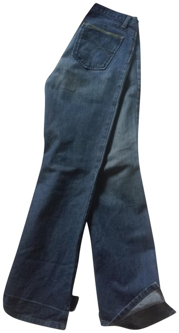 Preload https://img-static.tradesy.com/item/23476542/cruel-girl-blue-medium-wash-low-rise-slim-boot-cut-jeans-size-33-10-m-0-1-650-650.jpg