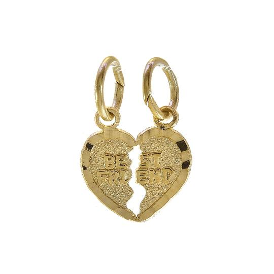Preload https://item3.tradesy.com/images/avital-and-co-jewelry-yellow-gold-best-friends-split-heart-pendant-14k-charm-23476617-0-0.jpg?width=440&height=440