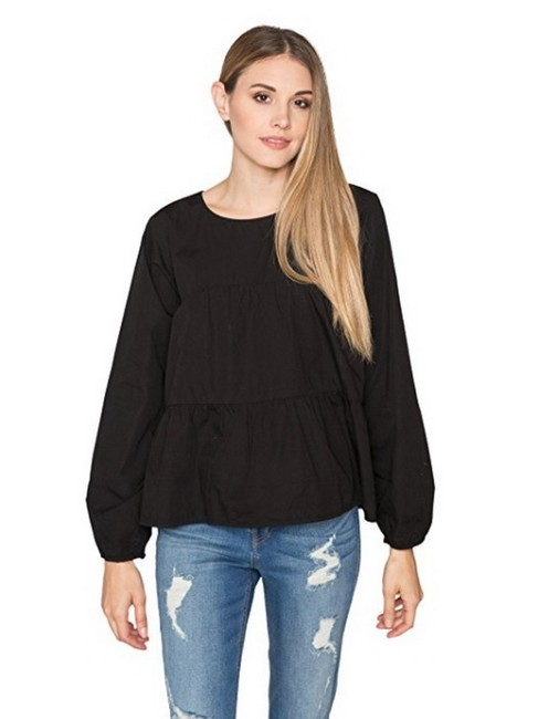 Preload https://img-static.tradesy.com/item/23476621/velvet-by-graham-and-spencer-black-blaine-blouse-size-8-m-0-0-650-650.jpg