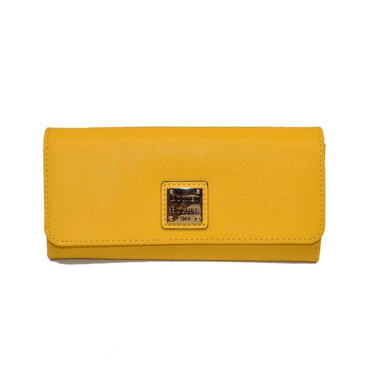 Preload https://item3.tradesy.com/images/dooney-and-bourke-dandelion-accordion-envelope-emb-leather-wallet-23476622-0-1.jpg?width=440&height=440