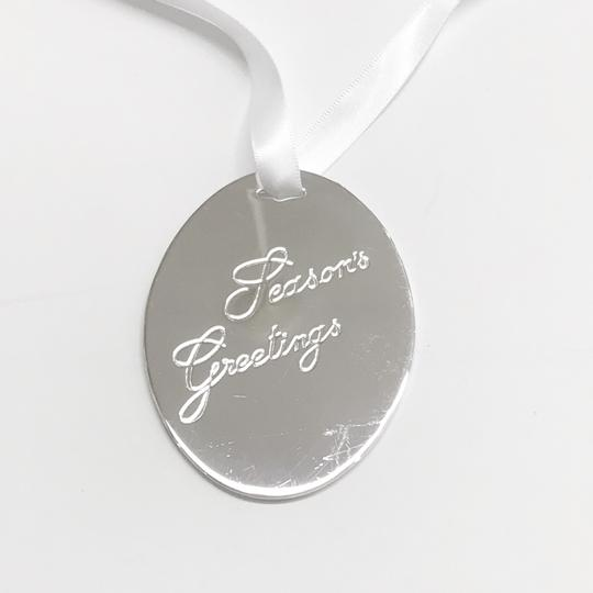 Cartier Cartier Sterling Silver 1990 Holly Christmas Ornament/Pendant