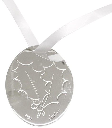 Preload https://item3.tradesy.com/images/cartier-sterling-silver-1990-holly-christmas-ornamentpendant-charm-23476712-0-1.jpg?width=440&height=440