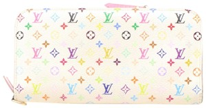 Louis Vuitton Louis Vuitton Insolite Multicolor White Monogram Long Wallet 10984