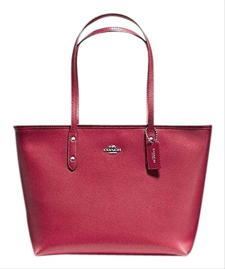 Preload https://item4.tradesy.com/images/coach-city-zip-hot-pink-crossgrain-leather-tote-23476748-0-1.jpg?width=440&height=440