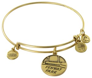 Alex and Ani Fenway Park Boston Red Sox Expandable Bracelet Rafaelian Gold