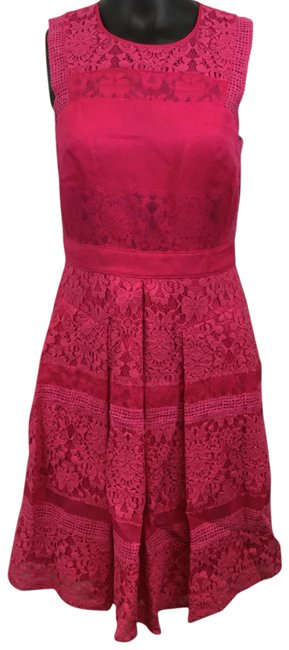 Preload https://img-static.tradesy.com/item/23476892/rebecca-taylor-pink-lace-short-cocktail-dress-size-4-s-0-1-650-650.jpg
