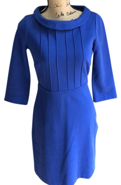 Preload https://img-static.tradesy.com/item/23476919/boden-royal-blue-34-sleeved-stretch-knit-mid-length-workoffice-dress-size-4-s-0-1-650-650.jpg