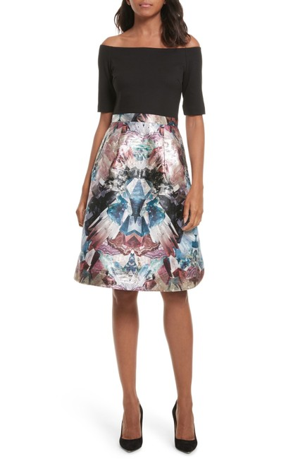 Preload https://item4.tradesy.com/images/ted-baker-black-keris-mirrored-minerals-tulip-short-casual-dress-size-8-m-23476923-0-0.jpg?width=400&height=650