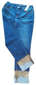 Chico's Straight Leg Jeans-Medium Wash