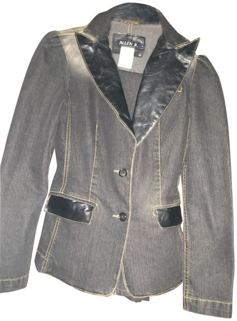 Item - Blue Matching Blazer and Jeans Jacket Size 4 (S)