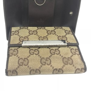 Gucci Gucci GG GG French Flap Bifold Wallet-INCLUDES BOX