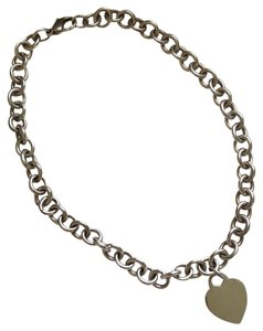Tiffany & Co. Heart tag chain necklace