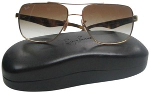 d49a859ddd Ray-Ban Gold Tortoise Rb3483 001 51 Not Polarized Sunglasses Sta727 ...