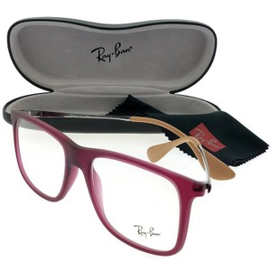 Ray-Ban RX7054-5526 Youngster Men's Violet Frame Clear Lens Genuine Eyeglasses