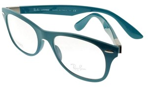 Ray-Ban RX7032-5436 Tech Unisex Turquoise Frame Clear Lens Eyeglasses