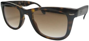 Ray-Ban Made in Italy!Ray-Ban Folding Wayfarer RB4105 Unisex Sunglasses/STA731