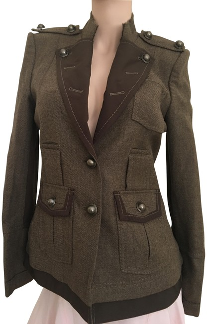 Item - Olive Heather Jacket Blazer Size 4 (S)
