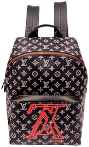Louis Vuitton Monogram Canvas Limited Edition Weekend Travel Bags Leather Backpack
