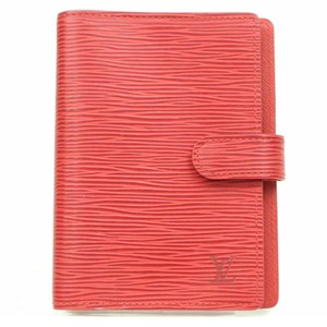 Louis Vuitton Agenda PM in Red Epi Leather