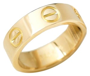 Cartier Love 18k Yellow Gold 5.5mm Wide Band Ring- Size 6.25 (20079)