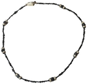 Giavan Giavan Beaded and Rhinestone Choker Necklace