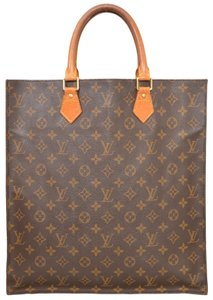 Louis Vuitton Monogram Shopper Handbag Tote in Brown